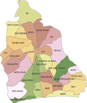 Akwa Ibom State Map || Akwa Ibom News Online - Sitippe Mfin ... Map Of Anam State on schneider map, jvc map, alba map, scott map, siam map, atlantic map,